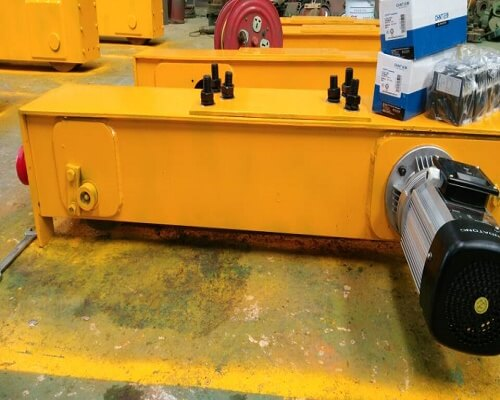 Top running overhead crane end truck from Ellsen