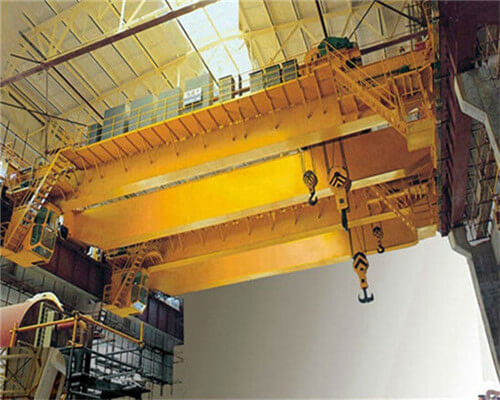 Ellsen 20t double girder crane with hook for sale