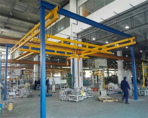 KBK free standing crane for sale from Ellsen