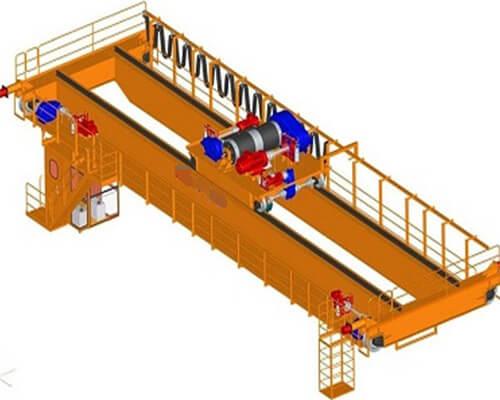 NLH European Standard Eot crane double girder