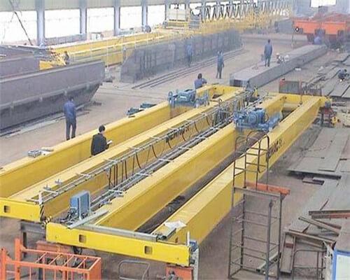 Aicrane double girder overhead crane design