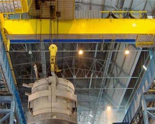 Ellsen double girder eot craner for foundry