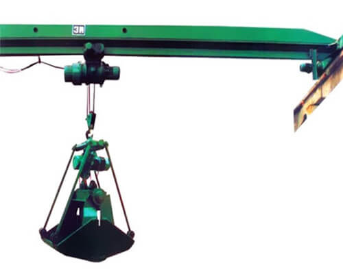 Single Girder Grabbing Crane