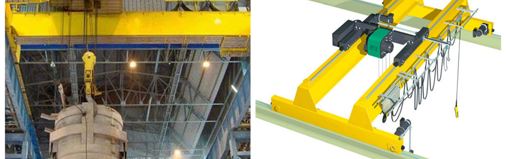 Ellsen Double Girder EOT Crane for Sale