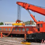 Latest Crane Rail Way Rescue Crane