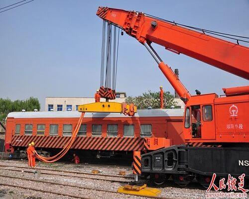 Rail Rescue Crane