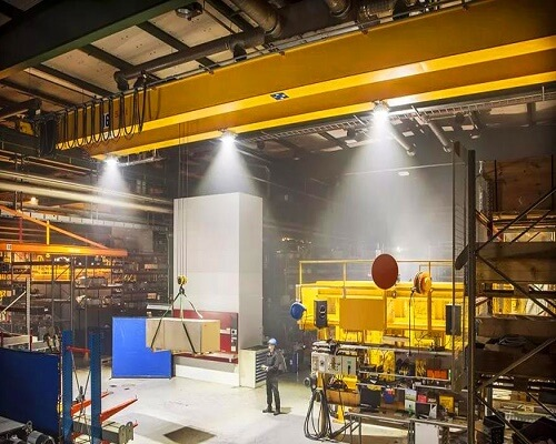 LED Design for Overhead Crane