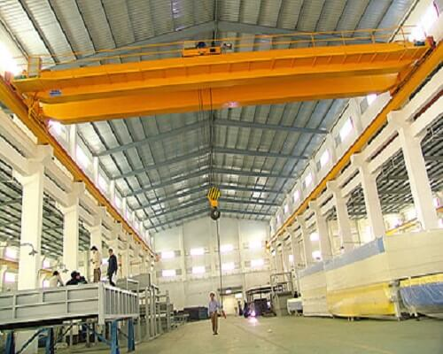 QD Ellsen European Double Girder Overhead Crane for Sale