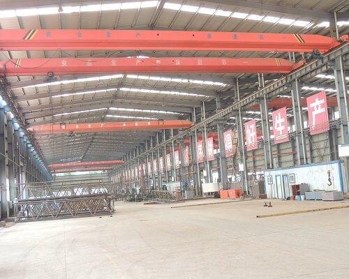 Single Girder Overhead Crane Factory