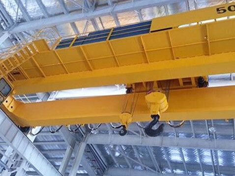 50t double girder overhead crane for sale