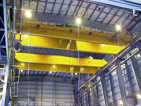 high quality 100 ton overhead crane sale