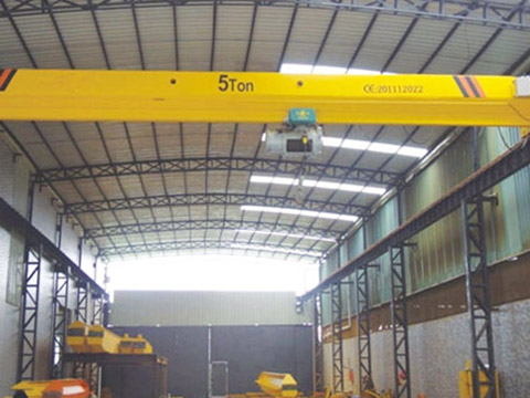 5 ton single girder bridge crane for sale