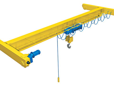 bridge crane structure of our company