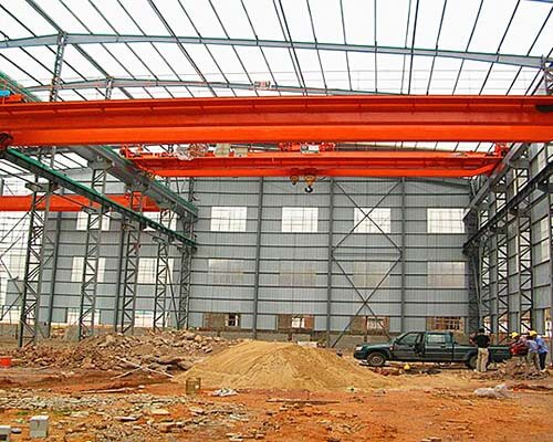 double girder overhead crane for workstation for sale