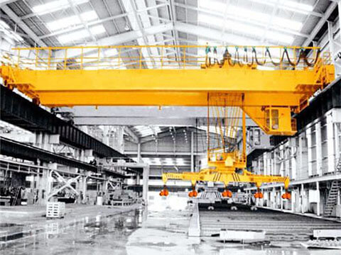 top warehouse bridge crane with carrier beam for sale