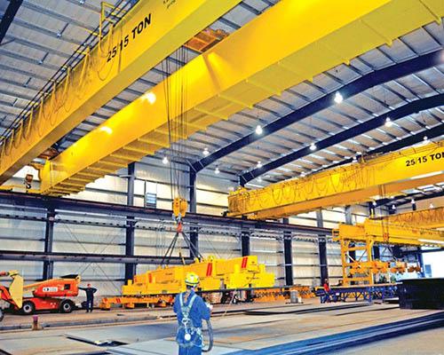 Workstation Bridge Crane | Excellent Overhead Crane Systems | Ellsen