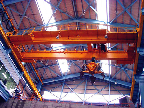 double girder grab crane for lifting garbage sale