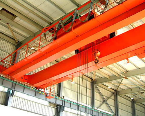 20 ton travelling double beam overhead crane for sale