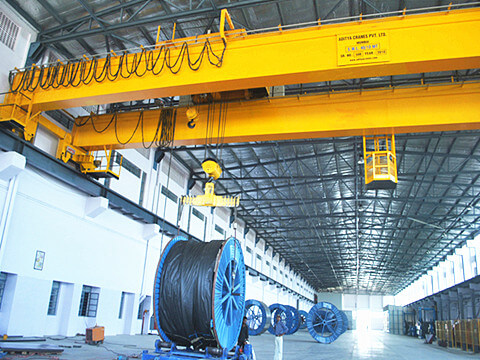 30-ton double girder overhead crane for sale