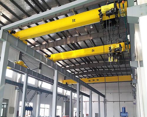 advanced 5 ton single girder crane supplier