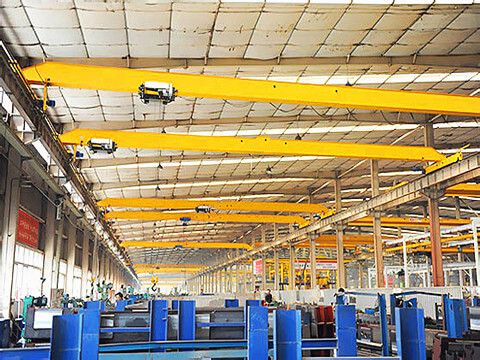2-ton traveling overhead crane for sale