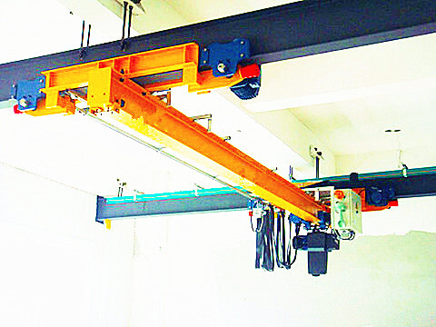 2 ton under hung overhead crane for sale
