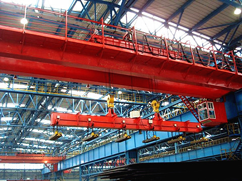 25 ton electromagnetic overhead crane for sale