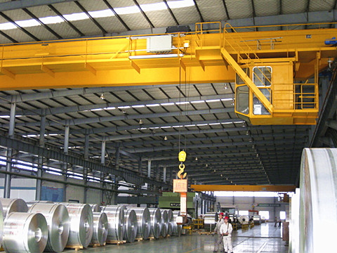 40 ton industrial overhead crane supplier