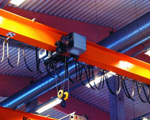 6-ton single girder overhead crane for sale