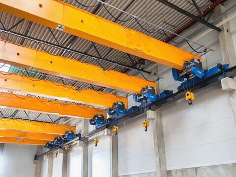 indoor single girder overhead crane