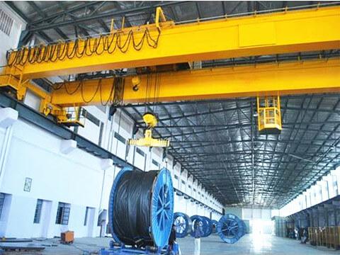 double girder 40 ton overhead crane sale