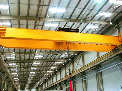 double girder top running overhead crane supplier