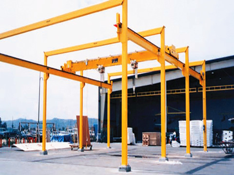 excellent free-standing bridge crane for sale