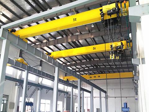 hot-sale 5 ton indoor bridge crane of Ellsen