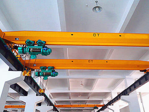 single girder electric overhead crane for sale