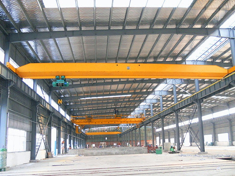 single girder electric traveling crane for sale