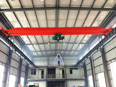 single girder top running overhead crane for sale