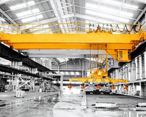 15 ton double girder electric bridge crane for sale
