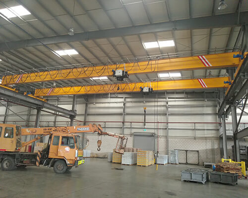 advanced 5 ton single girder crane