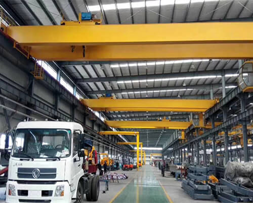 20 ton travelling double beam crane