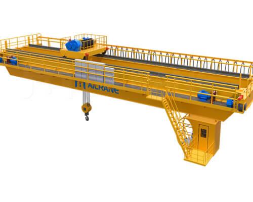 overhead bridge crane structure