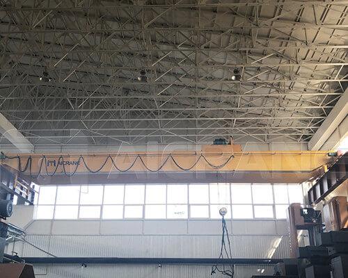 top running bridge crane for sale