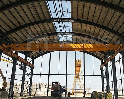 10 ton crane single girder crane