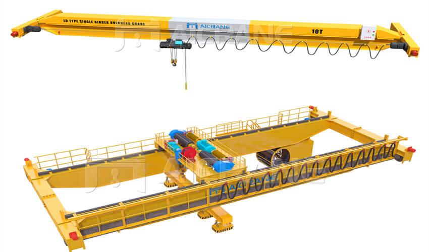 top running crane for sale