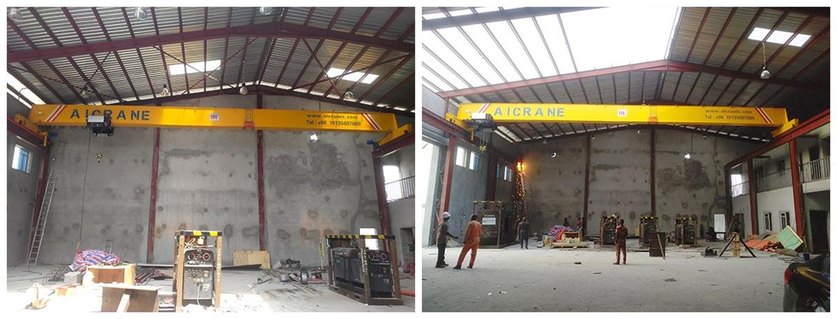 HD10ton overhead crane for sale in Nigeria